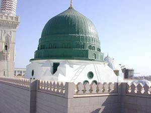 Green Dome in Madinah